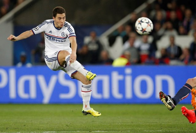 Chelsea paait Hazard met rugnummer 10