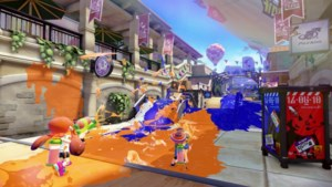 Online paintball in Splatoon