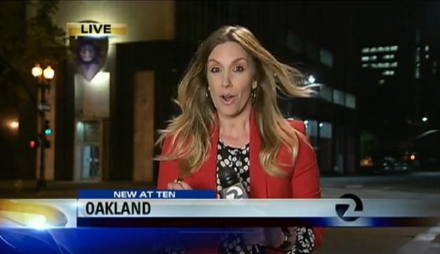 Reporter bestolen tijdens liveverslag over diefstal