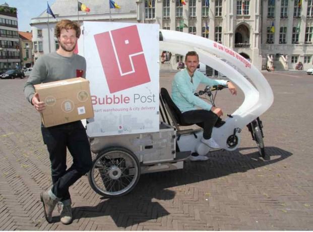 Bubble Post na Gent en Kortrijk ook in Sint-Niklaas
