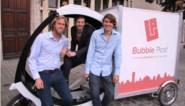 Bubble Post brengt goederen met fiets naar de stad