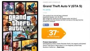 Verschijnt GTA V in november op pc?