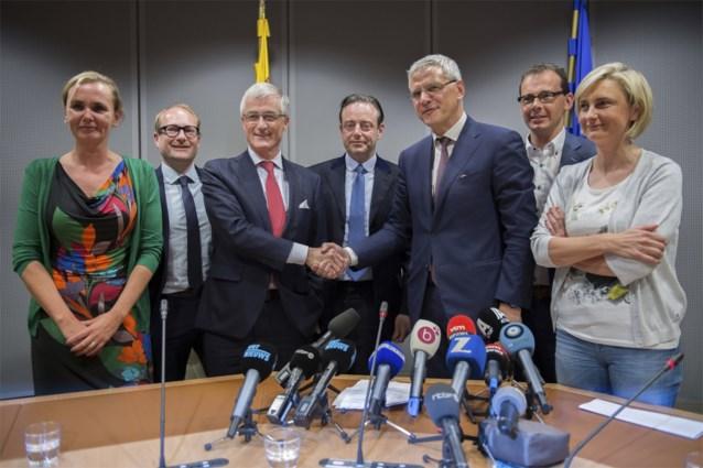 Sprake van 'versnelling' in Vlaamse regeringsvorming