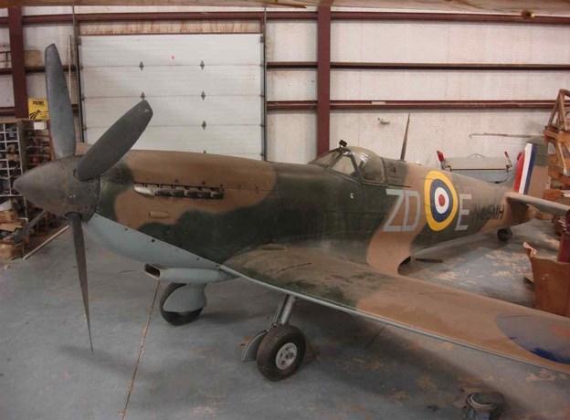 Te koop: Belgisch oorlogsvliegtuig met uniek verhaal