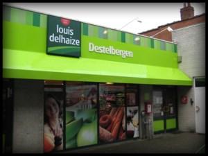 Gewapende overval op warenhuis Louis Delhaize aan Dendermondesteenweg