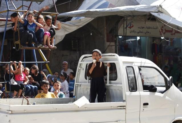 IS-extremisten rukken op in Syrië