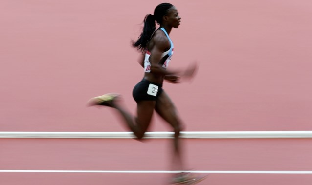 Ex-wereldkampioene Amantle Montsho test positief na finale 400 meter