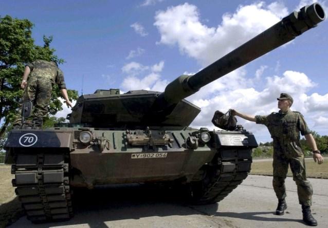 België verkoopt 56 Leopardtanks