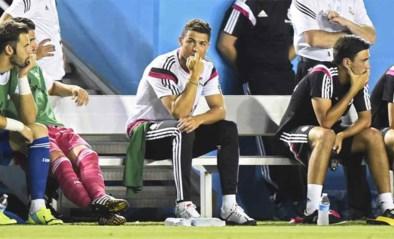 Cristiano Ronaldo blijft sukkelen met knie