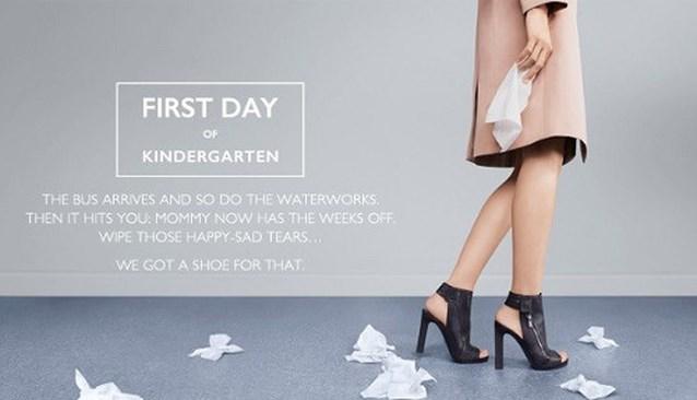Schoenenmerk onder vuur door 'seksistische reclame'