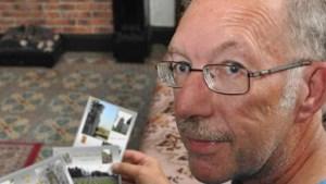 Houtemnaar brengt veldslag  op postkaarten