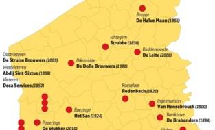 West-Vlaamse brouwerijen zitten in de lift