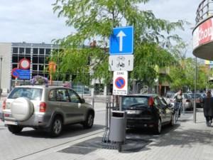 Nieuwe borden verduidelijken verkeerscirculatie