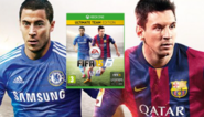 Eden Hazard samen met Messi op cover van FIFA 15