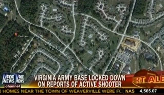 Schutter Amerikaanse legerbasis opgepakt
