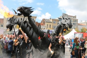 FOTO. Cultuurmarkt van Vlaanderen neemt historische stad in