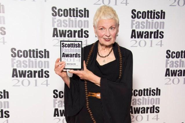 Vivienne Westwood krijgt Schotse Fashion Award