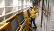 Boekentoren loopt leeg, aan 30.000 boeken per dag