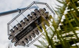 FOTO. Hannah Van Ongevalle maakt Gin & Tonic's op 50 meter boven de Schelde