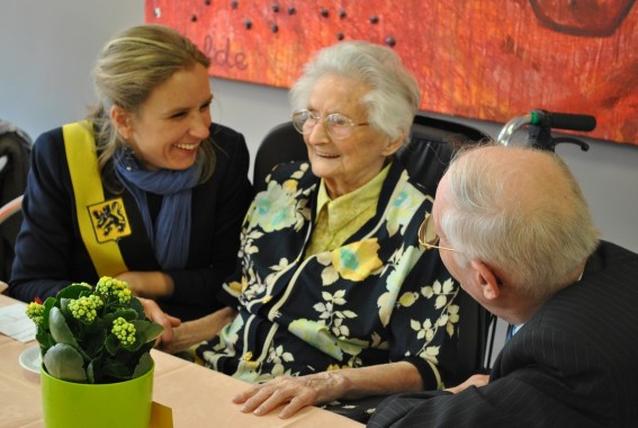 Anna De Guchtenaere is oudste Belg