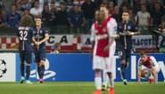 Cavani straft geklungel in Ajax-verdediging af