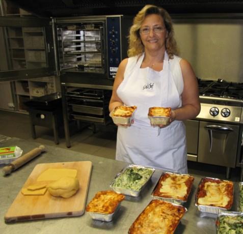 Lasagne thuis geleverd