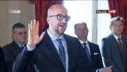Charles Michel legt eed af als premier