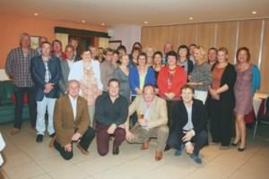Vijftigjarigen uit Schellebelle en Wichelen vierden samen feest