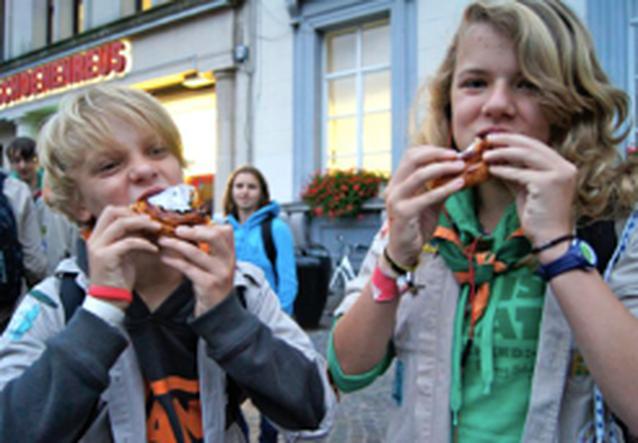 Dag van de jeugdbeweging in Aalst