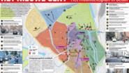 Kaart: de 21 belangrijkste ingrepen uit het nieuwe Mobiliteitsplan van Gent