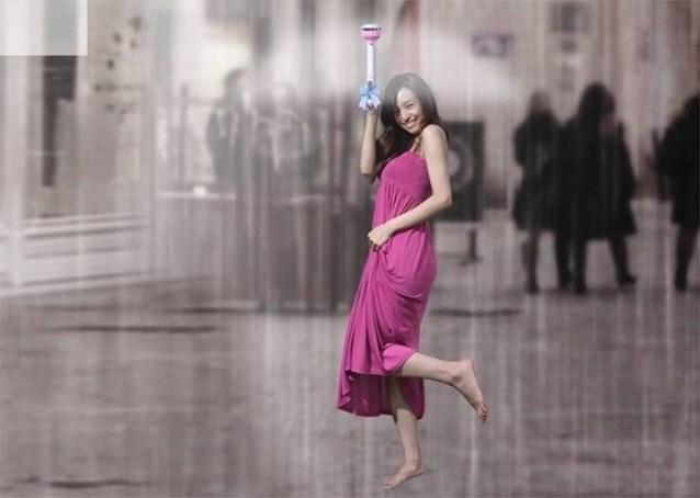 Is dit de paraplu van de toekomst?