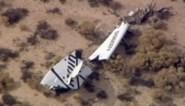 Commercieel ruimteschip van Virgin Galactic crasht