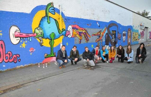 Street Art te bewonderen in Posthoornstraat