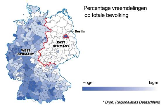 Vijf Kaarten Die Aantonen Dat De Berlijnse Muur Nog Niet Weg
