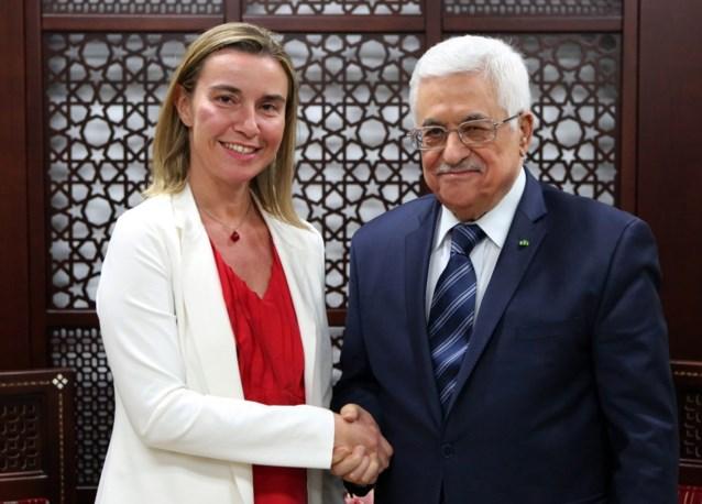 Mogherini wil Palestijnse staat met Oost-Jeruzalem als hoofdstad