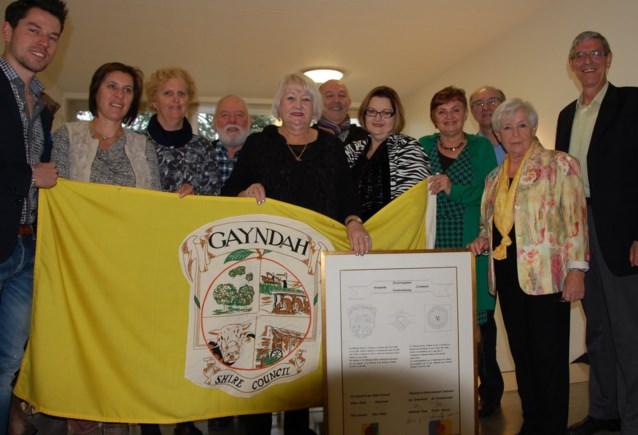 Zonhoven en Gayndah (Australië) vieren 25 jaar verbroedering
