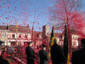 Uitzonderlijke hommage aan oorlogsslachtoffers in Groot-Wichelen