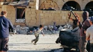 Filmpje heldhaftig Syrisch jongetje in scène gezet