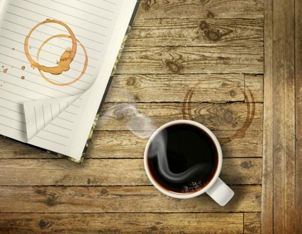 Waarom koffie altijd kringen maakt