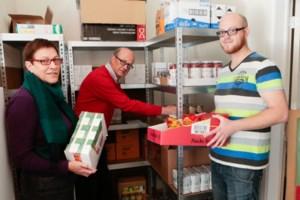 Elke twee weken bedeling van voedselpakketten in Kapellen