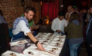 FOTO. Flemish Food Bash in Café d'Anvers