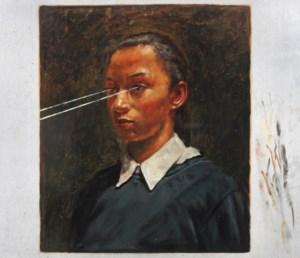Uniek schilderij(tje) van Michael Borremans aan de stadshal van Gent onthuld