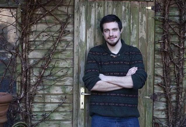 Lukas Lelie uit Gentbrugge bij drie finalisten Humo's Comedy Cup
