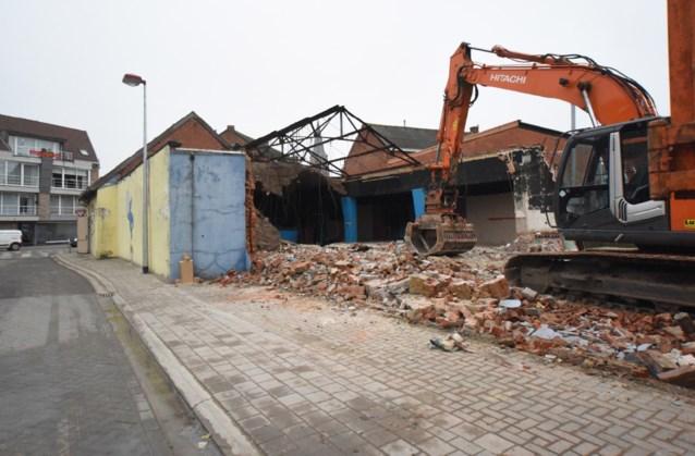 Oude discotheek La Casa afgebroken