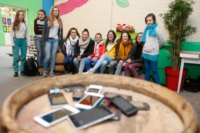 Leerlingen IVG-School vragen zelf om plek zonder smartphone