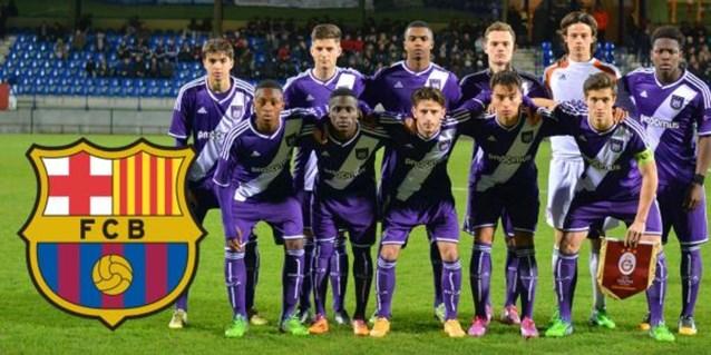 Anderlecht in UEFA Youth League tegen... Barcelona