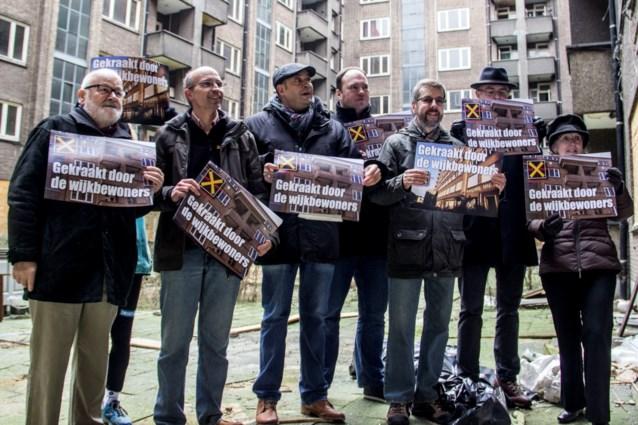 Buren kraken Fierensblokken uit protest tegen leegstand