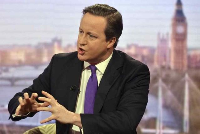 Gaat David Cameron na Britse verkiezingen in zee met Nigel Farage?