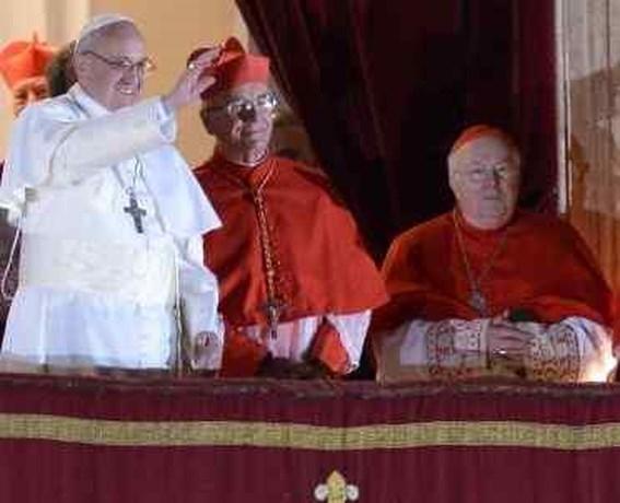 'Franciscus werd paus dankzij kardinaal Danneels'