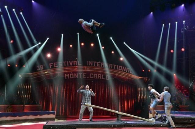 Vlaamse acrobaat schittert in topcircus Monte Carlo